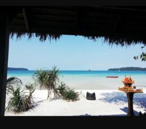 bar della spiaggia di Sun Island
