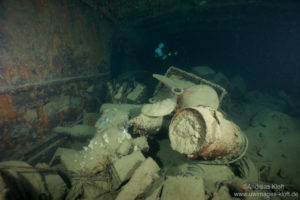 The wreck treasure