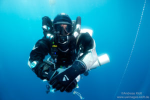 Andi and his rEvo Rebreather