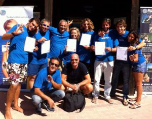 Working as a SCUBA Diving Instructor Examiner with PADI